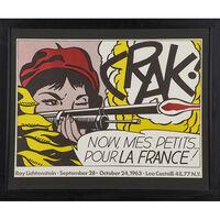 Roy Lichtenstein, 'CRAK', 1963
