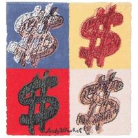 Andy Warhol, 'Dollar Sign rug', ca. 1981