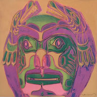 Andy Warhol, 'NORTHWEST COAST MASK FS II.380', 1986