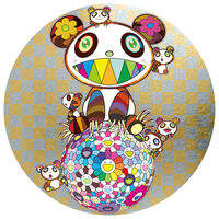 Takashi Murakami, 'PANDA AND PANDA CUBS AND FLOWER BALL', 2019