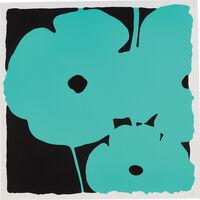 Donald Sultan, 'Poppies, June 5, 2011 (Aqua)', 2011