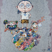 Takashi Murakami, 'Mr. DOB Comes to Play His Flute', 2013