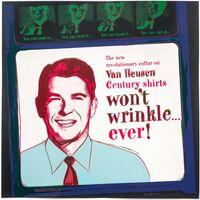 Andy Warhol, 'Van Heusen (Ronald Reagan), from Ads', 1985