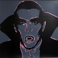 Andy Warhol, 'Myth Portfolio- Dracula (After Andy Warhol)', 1981