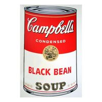 Andy Warhol, 'Soup Can 11.44 (Black Bean)', 1990-2020