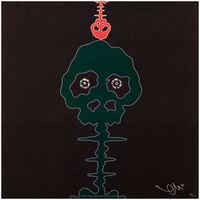 Takashi Murakami, 'Time Bokan – Black & Moss Green', 2006