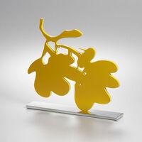 Donald Sultan, 'Yellow Lantern Flowers, Sept.18, 2013', 2013