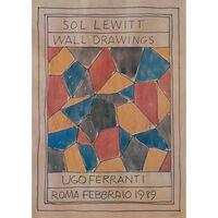 Sol LeWitt, 'Sol Lewitt - Wall drawings - Ugo Ferranti - Roma Febrario', 1989