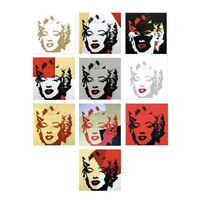 Andy Warhol, 'Golden Marilyn Portfolio', 1990-2020