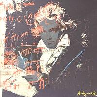 Andy Warhol, 'Beethoven', 1986