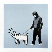 Banksy, 'Choose Your Weapon (Silver) - Signed', 2010