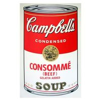 Andy Warhol, 'Soup Can 11.52 (Consomme)', 1990-2020