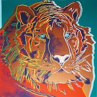 Andy Warhol, 'ENDANGERED SPECIES: SIBERIAN TIGER FS II.297', 1983