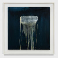 Pat Steir, 'MOORISH WRITING WATERFALL II', 1993