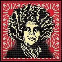 Shepard Fairey (OBEY), 'Psychedelic André (CLASSIC RED OBEY GIANT VARIANT)', 2020