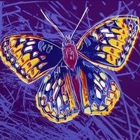 Andy Warhol, 'ENDANGERED SPECIES: SAN FRANSISCO SILVERSPOT FS II.298', 1983