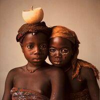Irving Penn, 'Pila Pila Sisters (B), Dahomey', 1967