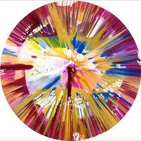 Damien Hirst, 'Spin Painting - Circle', 2009