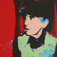 Andy Warhol, 'Man Ray', 1974