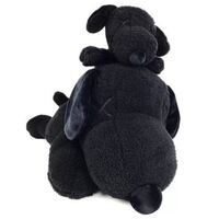 KAWS, 'KAWS x Peanuts Black Snoopy Uniqlo Plush Toy (Black) (Set of 2)', 2017