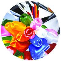 Jeff Koons, 'Tulips Coupe Plate', 2014
