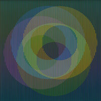 Carlos Cruz-Diez, 'Physichromie 1498', 2007