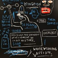 Jean-Michel Basquiat, 'Rinso'