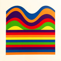 Sol LeWitt, 'Arcs and Bands in Color E', 1999
