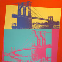 Andy Warhol, 'Brooklyn Bridge II.290', 1983