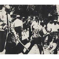 Andy Warhol, 'Birmingham Race Riot from X + X (Ten Works by Ten Painters)', 1964