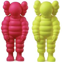 KAWS, 'KAWS WHAT PARTY set of 2 works (KAWS Companion) ', 2020
