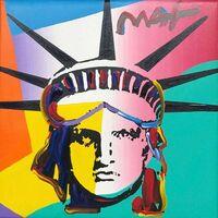 Peter Max, 'Liberty Head ', 2011