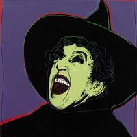 Andy Warhol, 'Myth Portfolio- The Witch', 1981