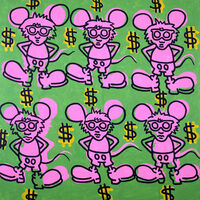 Keith Haring, 'Andy Mouse', 1985