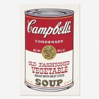 Andy Warhol, 'Campbell's Soup II, Old Fashioned Vegetable FS II 54', 1969