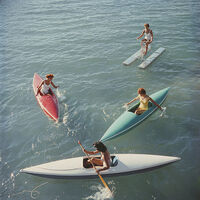 Slim Aarons, 'Slim Aarons 'Lake Tahoe Trip,' Zephyr Cove (Slim Aarons Estate Edition)', 1959