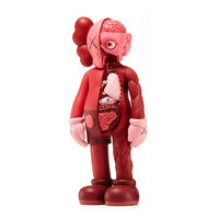 KAWS, 'Companion (Blush Flayed)', 2017