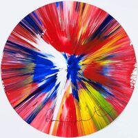 Damien Hirst, 'Circle Spin Painting', 2009