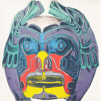 Andy Warhol, 'Northwest Coast Mask', 1986