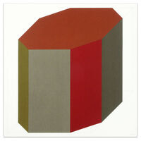 Sol LeWitt, 'Forms Derived from a Cube (Colors Superimposed), Plate #8', 1991
