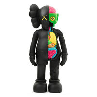 KAWS, 'Companion (Black Flayed)', 2016
