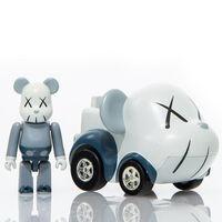 KAWS, ''Choco-Q' Figure + Car Set (w/Be@rbrick x Takara Tomy)', 2007