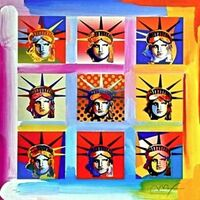 Peter Max, 'Nine Liberties', 2004