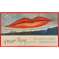 Man Ray, 'Man Ray exhibition poster, Los Angeles County Museum of Art', 1966