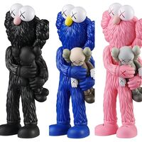 KAWS, 'KAWS TAKE complete set of 3 (KAWS companion)', 2020