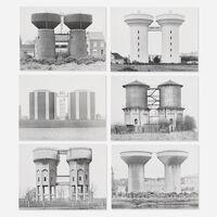 Bernd and Hilla Becher, 'Sechs Doppelwasserturme (Six Double Water Towers) portfolio', 1972
