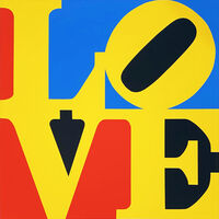 Robert Indiana, 'The Book of Love 6', 1996
