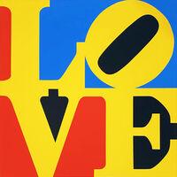 Robert Indiana, 'The Book of Love 6', 1996