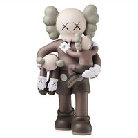 KAWS, 'Clean Slate (Brown)', 2018