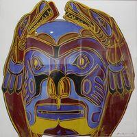 Andy Warhol, 'Northwest Coast Mask (FS II. 380)', 1986